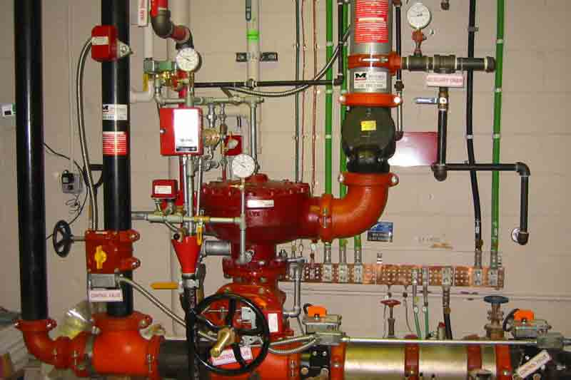 Commercial fire sprinkler systems by Sawyer Sprinkler Service